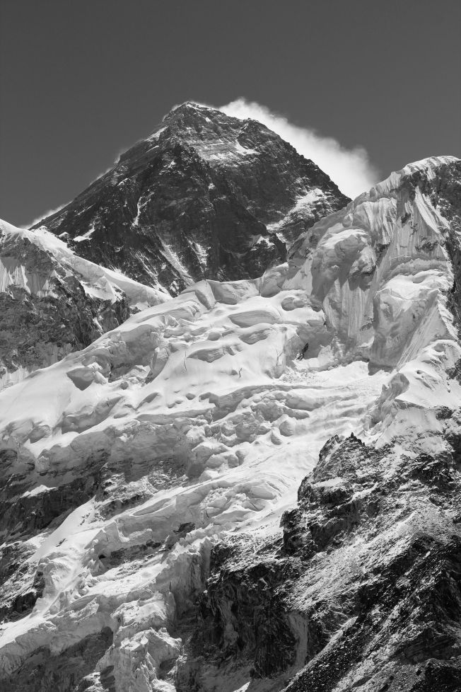 Sagarmatha (Everest) from the top of Kala Patthar